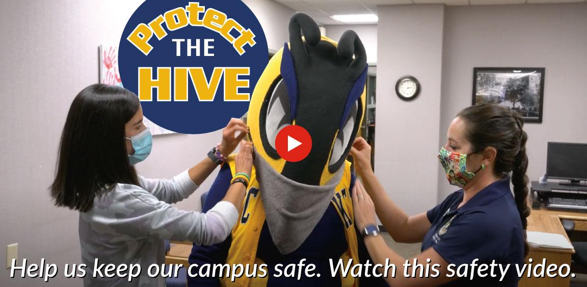Help us keep our campus safe. Watch this safety video.