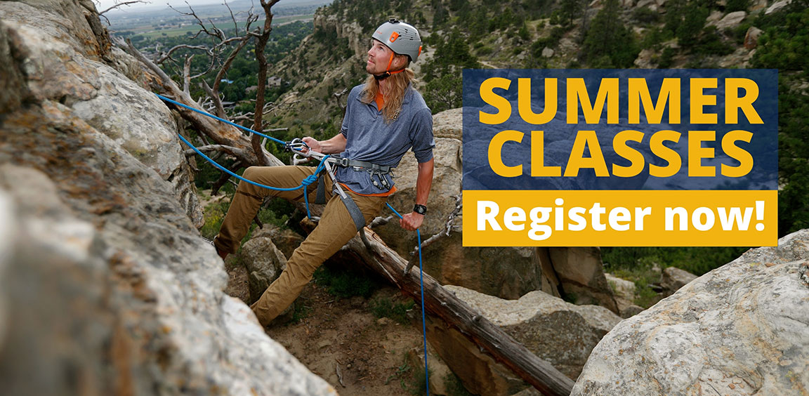 Summer classes. Register now!