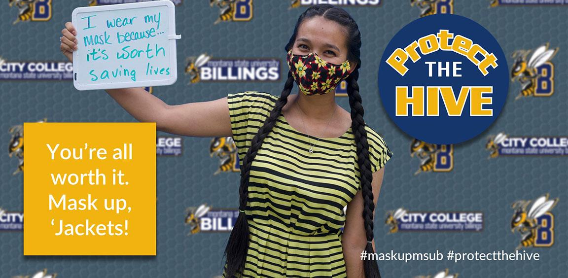 You're all worth it. Mask up, 'Jackets! #maskupmsub #protectthehive