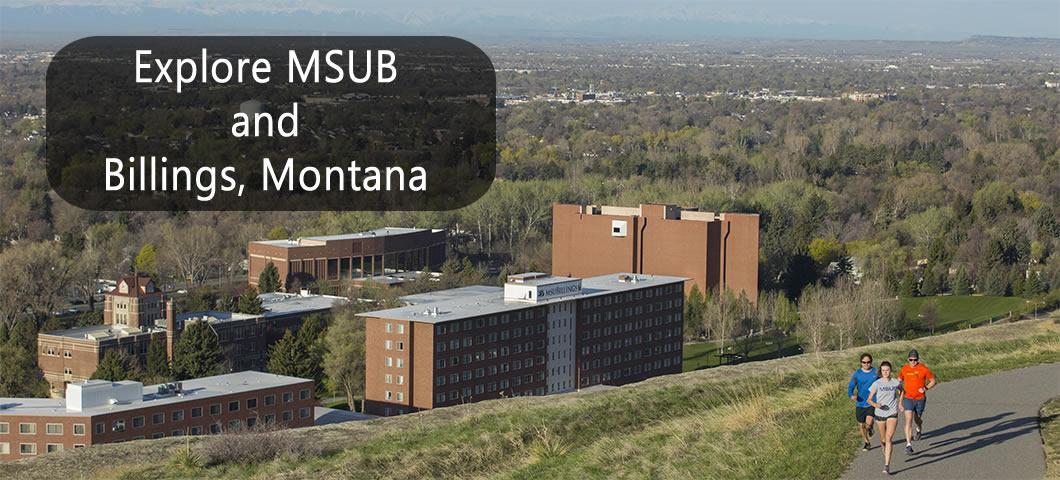 Explore MSUB and Billings, Montana