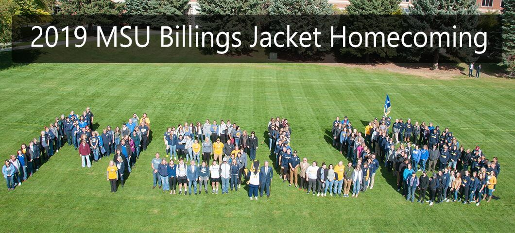2019 MSU Billings Jacket Homecoming