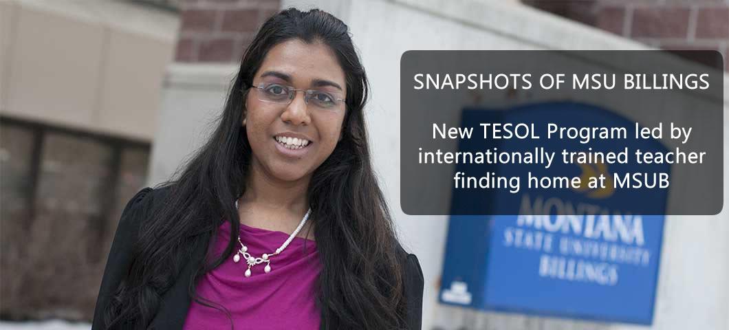 Snapshots of MSUB: Anita Prabhakar