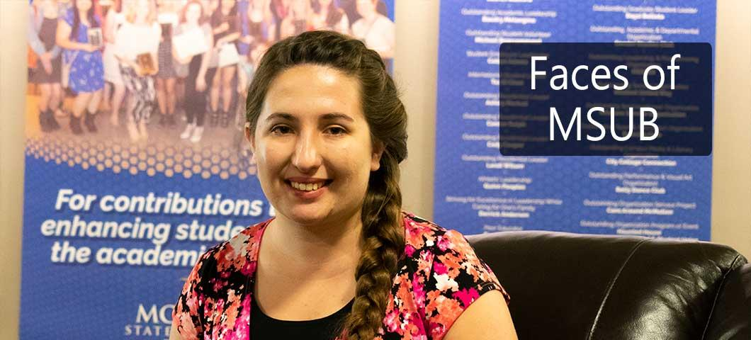 Faces of MSUB: Savanah Whitney