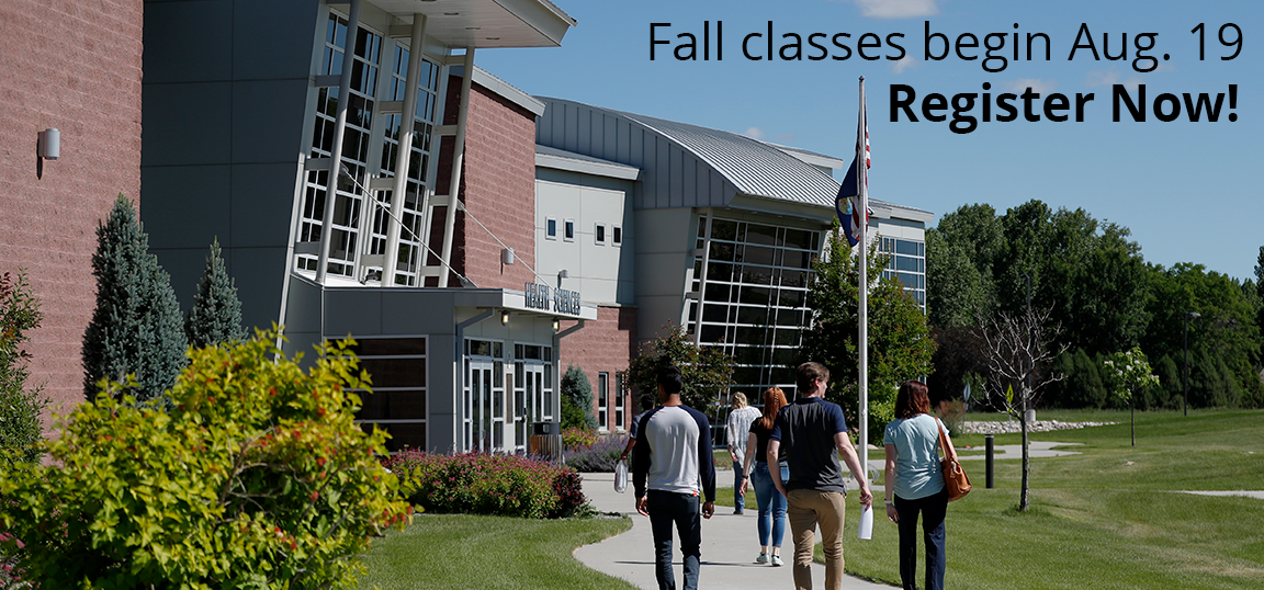 Fall classes begin Aug. 19th. register now if you are a current student.