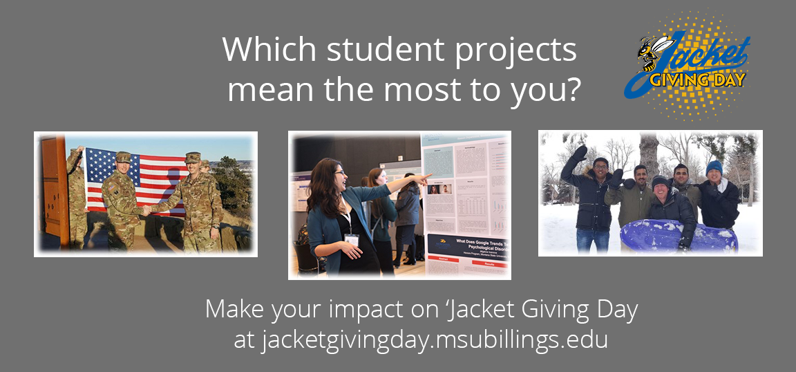 Contribute to your project of choice for 'Jacket Giving Day.