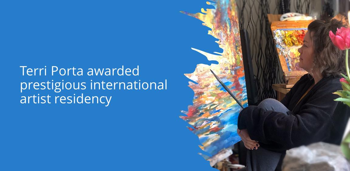 Terri Porta awarded prestigious international artist residency