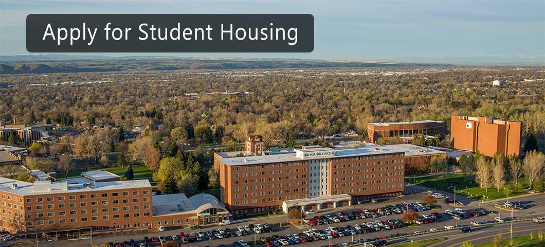 Apply for Student Housing