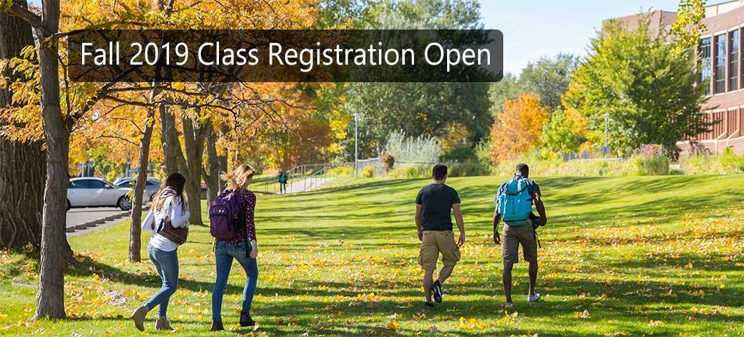 Fall 2019 Class Registration Open