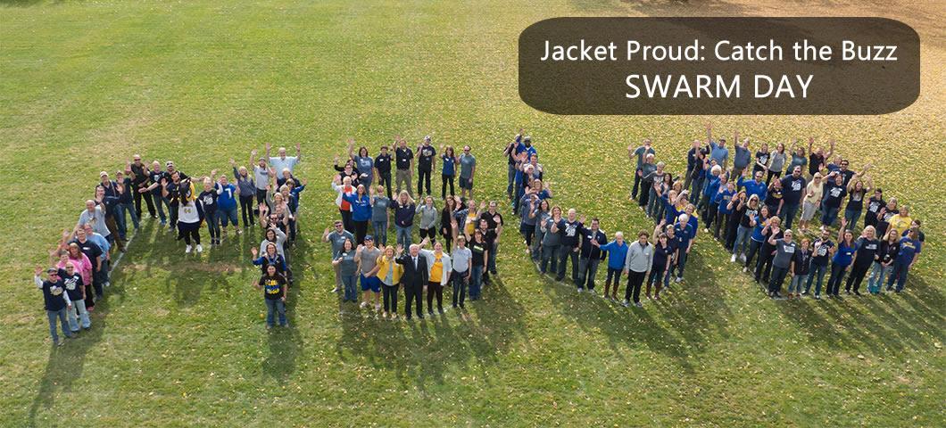 Jacket Proud: Catch the Buzz SWARM DAY