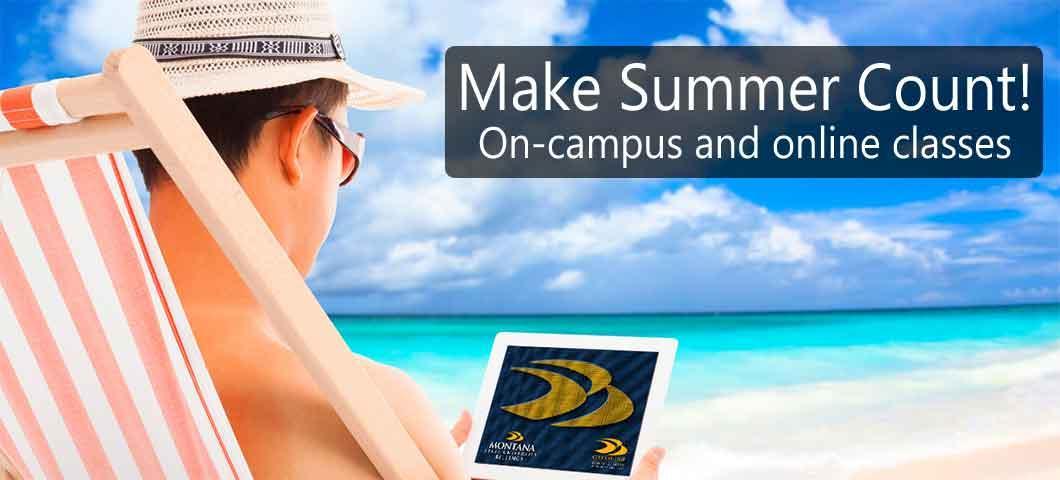 Make summer count