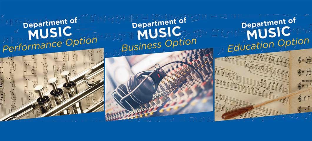 Music Department Informational Brochure