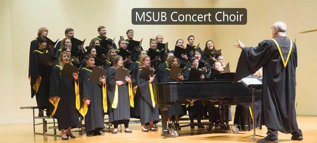 MSUB Concert Choir