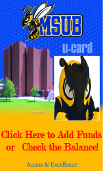 MSUB u-card Click here to add funds or check the balance