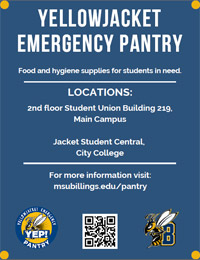 YellowJacket Emergency Pantry Flier