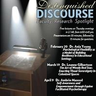 Distinguished Discourse event