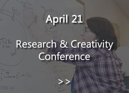 Research and Creativity Conference April 21