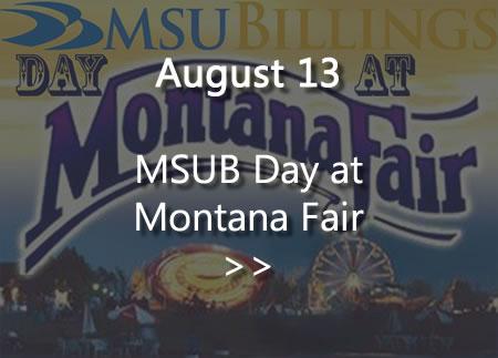 MSUB Day at Montana Fair