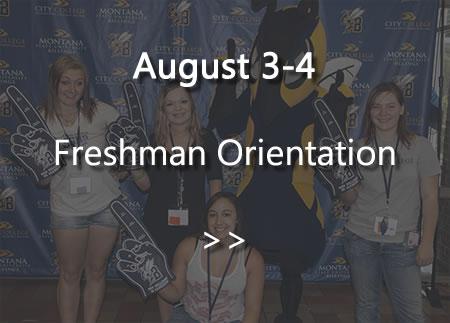 Freshmen Orientations