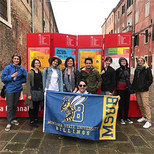 study abroad students in southern Europe