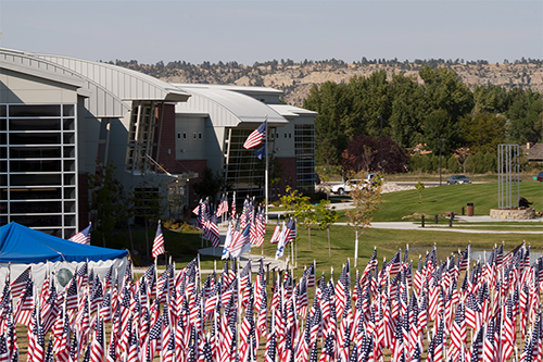 The 911 Memorial and Healing Field at City College