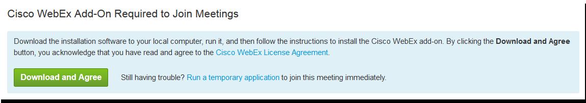 Installing WebEx Components - MSU Billings | MSU Billings