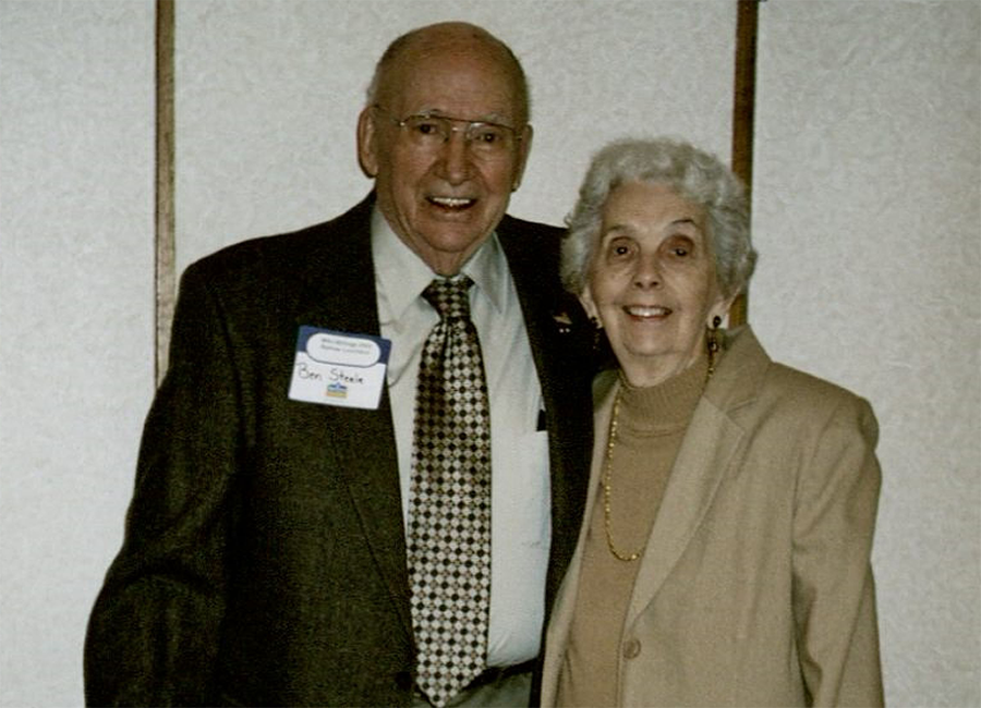 Ben and Shirley Steele