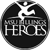 MSU Billings HEROES logo