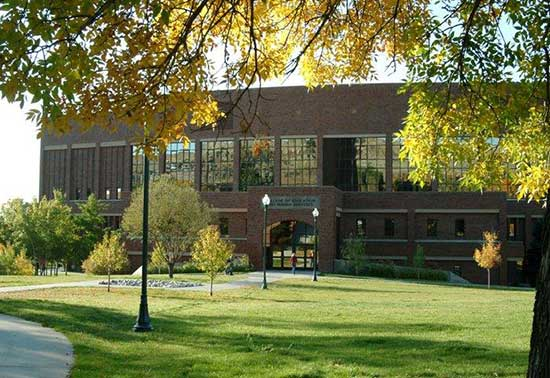 College of Education building on the MSUB university campus