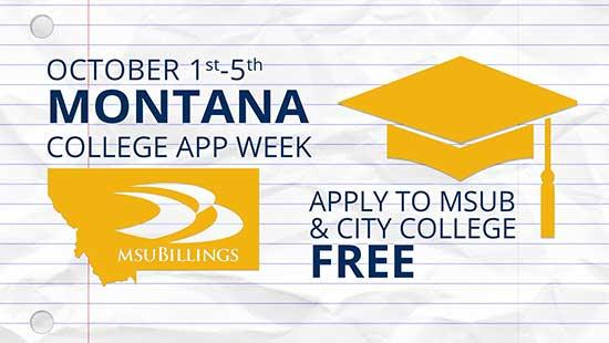 Montana College App Week image