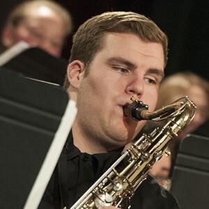 MSUB Band Concert Student