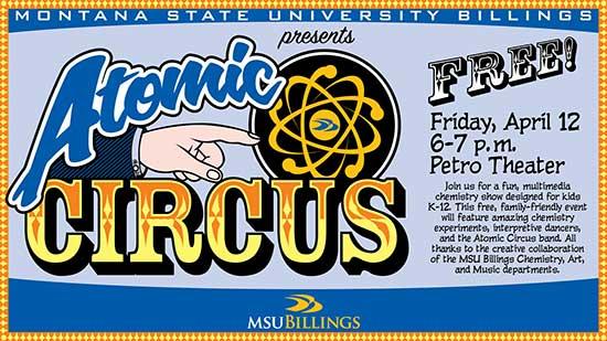 Atomic Circus poster