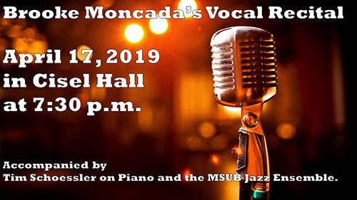 Brooke Moncada Vocal Recital