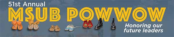 MSUB Powwow poster art