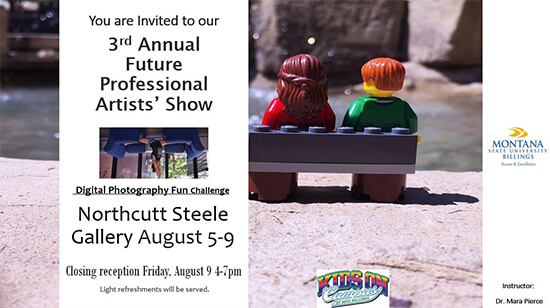 You are invited to our 3rd Annual Future Professional Artists' Show