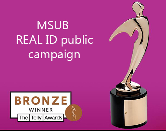 MSUB Wins Two Telly Awards for MVD gains recognition