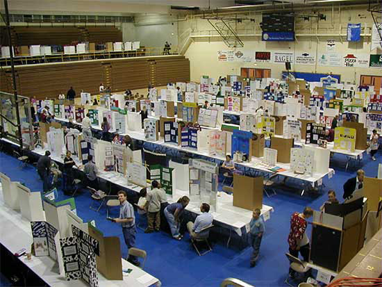 photo of a prior Science Expo at MSUB