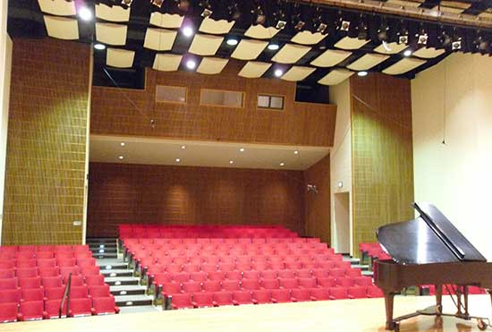Cisel Recital Hall at MSU Billings