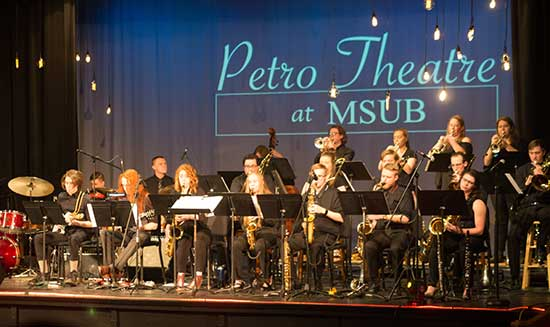 MSUB Jazz Ensemble