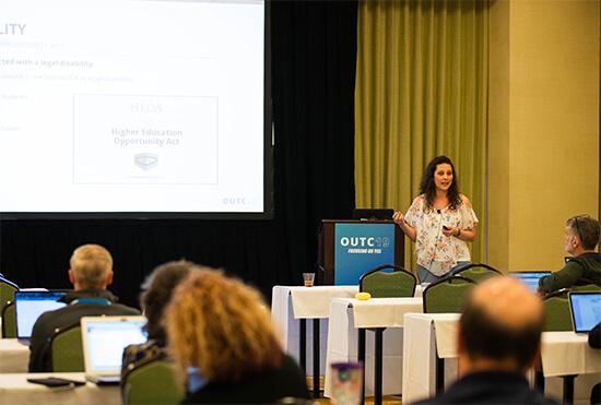 April Buscher presentation for OmniUpdate Campus